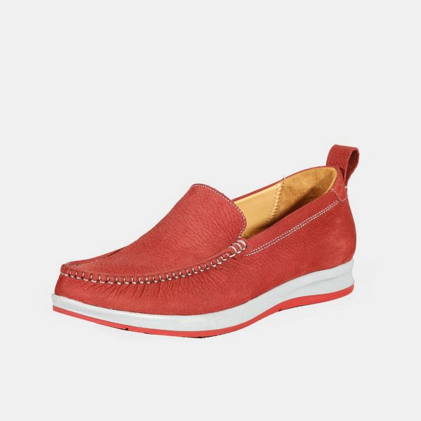 کفش زنانه برتونیکس نبوک فلوتر 380 قرمز